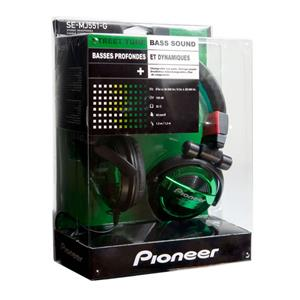 Pioneer SE-MJ551 G Green Headphone